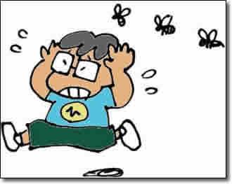 スズメバチ物語 第2話「たらい回しの、電話」