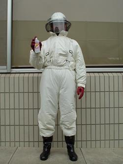 ハチ退治専用防護服