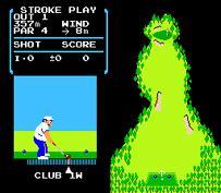 任天堂ゴルフ。ゴルフゲームの元祖ですね。